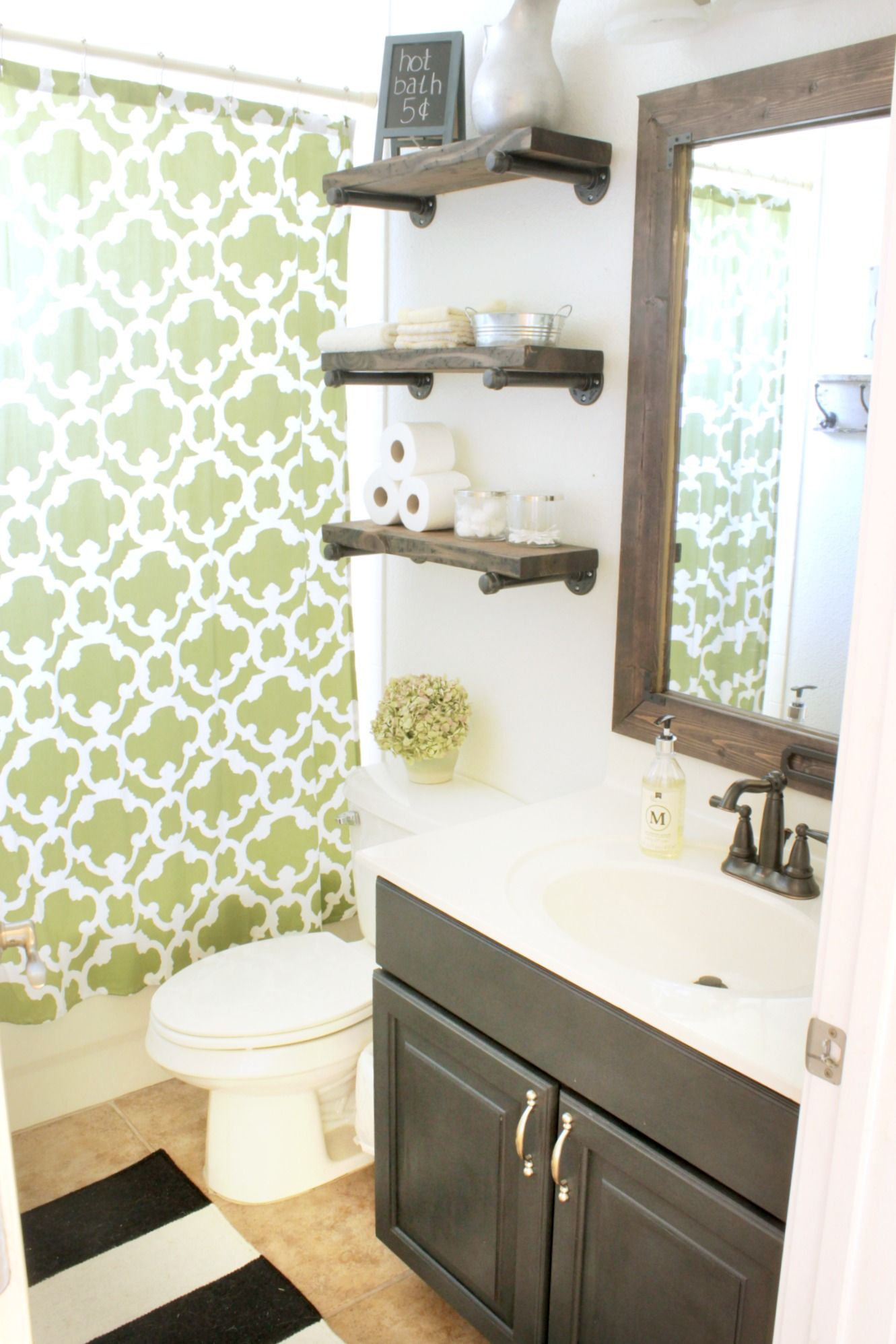 Bathroom update | For the Home | Pinterest | Guest bath and Bath