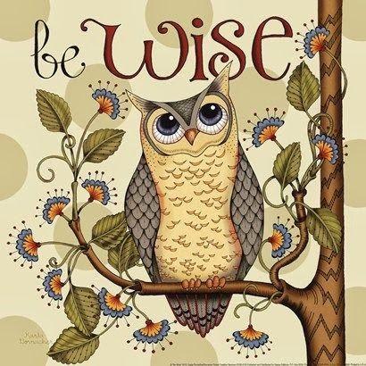 Wise Owl Throw Pillow Kus Owl Ve Resim