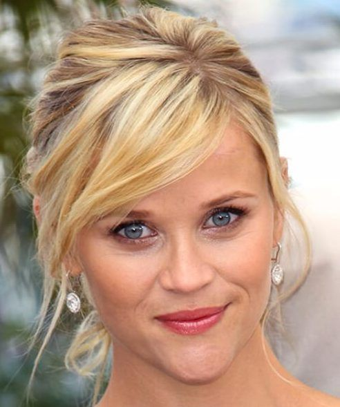 21 Flirty Frisuren Mit Pony Reese Witherspoon Reese Witherspoon