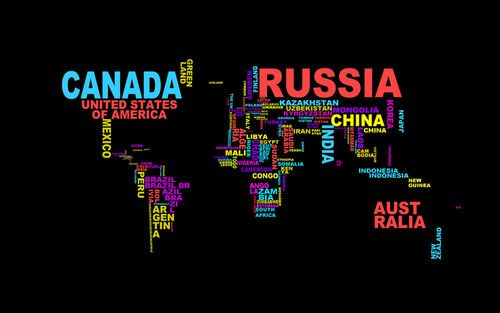 The world verbose pinterest world map typographic wallpaper gumiabroncs Choice Image