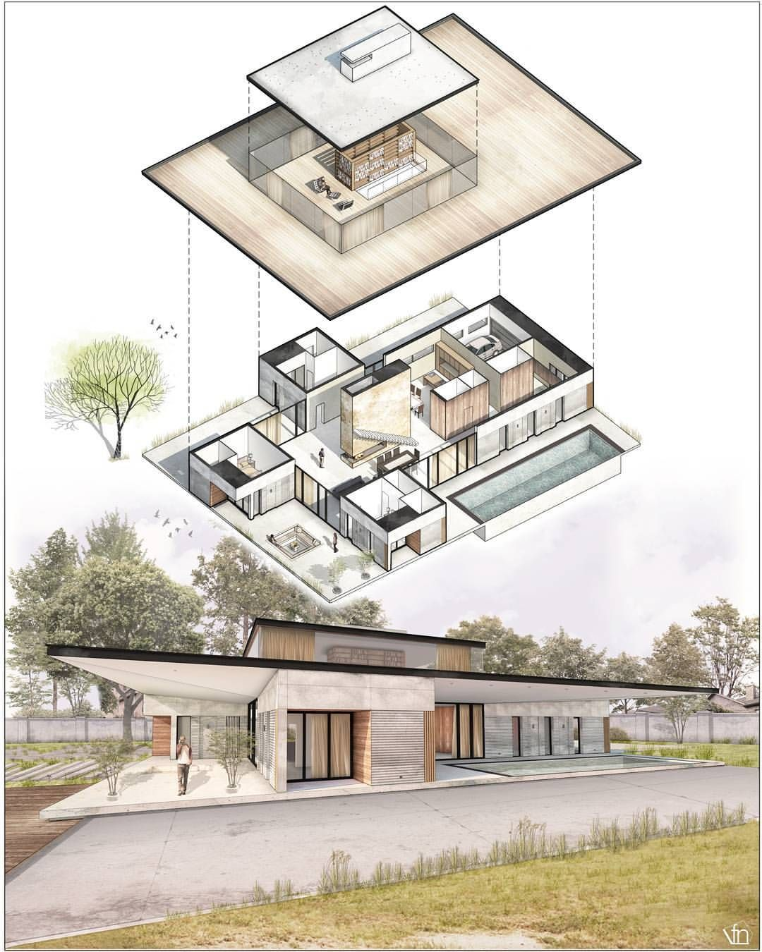 See This Instagram Photo By Fer Neyra 6 166 Likes Architecture Sketch Architecture Concept Diagram Architecture