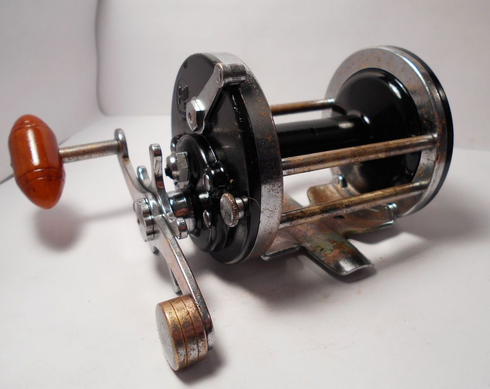 Vintage penn surfmaster 200 conventional saltwater fishing for Surf fishing rod and reel