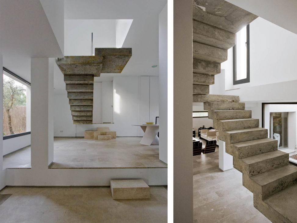 Best C 51 House Fachada De Piedra Escaleras 400 x 300