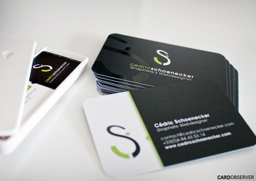 Rounded Business Card Business Cards Observer Round Business Cards Innovative Business Cards Business Cards Creative