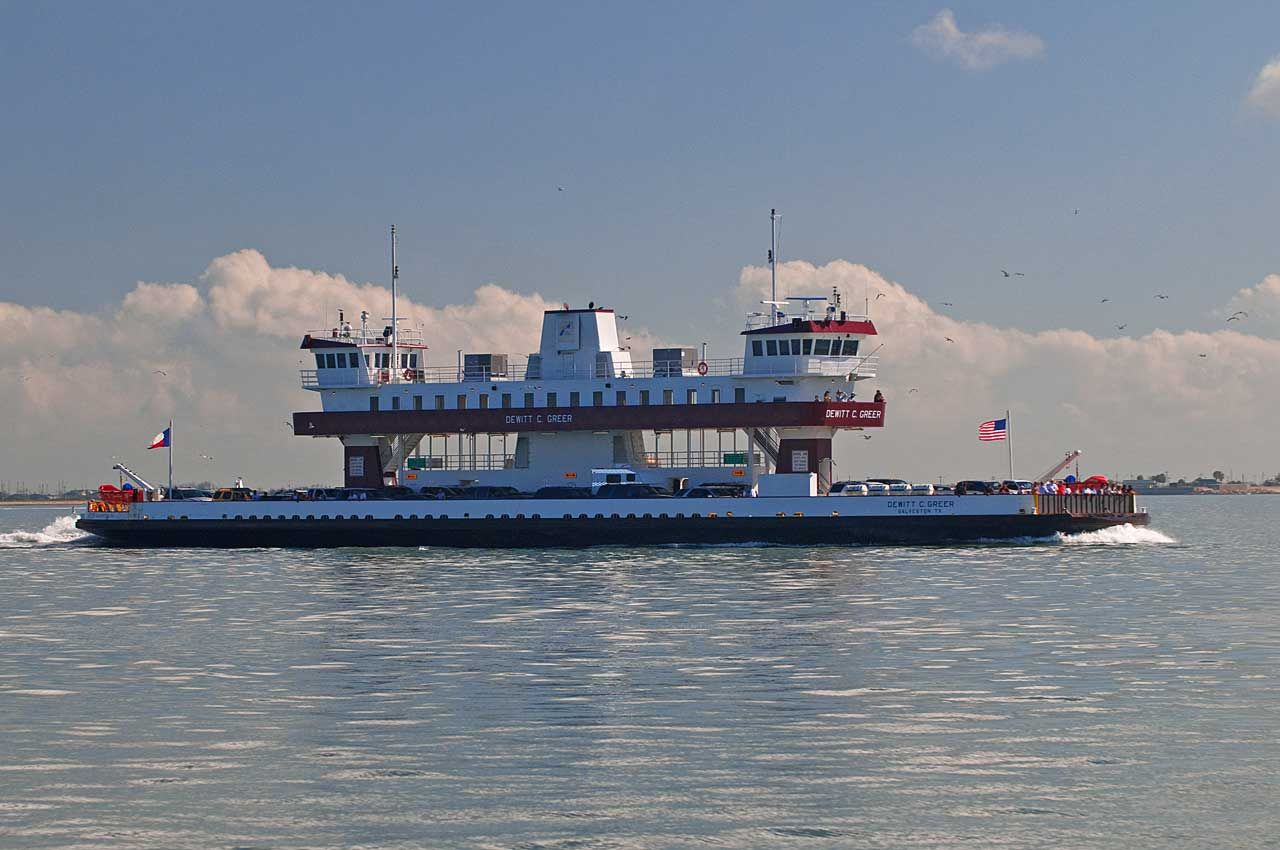 Catch The Free Ferry From Galveston To Bolivar Fond Memories Of