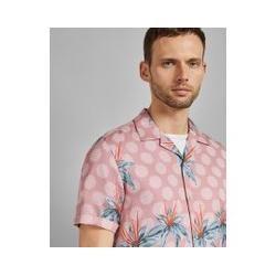 Photo of Kurzärmliges Baumwollhemd mit Aufdruck Ted BakerTed Baker
