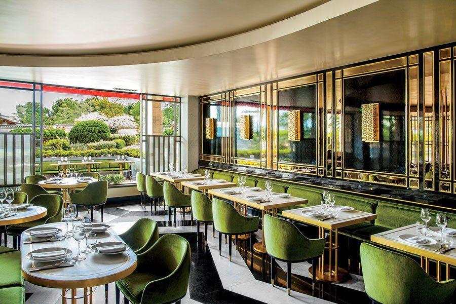 Eight Beautifully Designed Restaurants Ad Visited This Summer Restaurant Interior Bar Interior Design Restaurant Decor