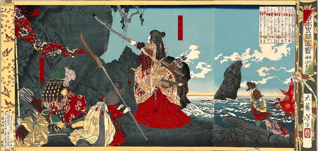 Video mythical origin of japan hand down panties