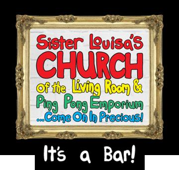 Sister Louisas Church Of The Living Room Ping Pong Emporium 466 Edgewood Ave SE Atlanta Georgia 30312