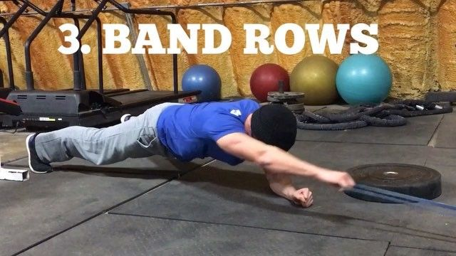 """💥Front Plank Variations💥 from the upcoming """"PLANK PRO"""" available soon from @muscleandstrength  For the full workout make sure to check out Muscleandstrength.com #teamgutcheck #muscleandstrength #oldschoolgymoh #plank #corestrength"""