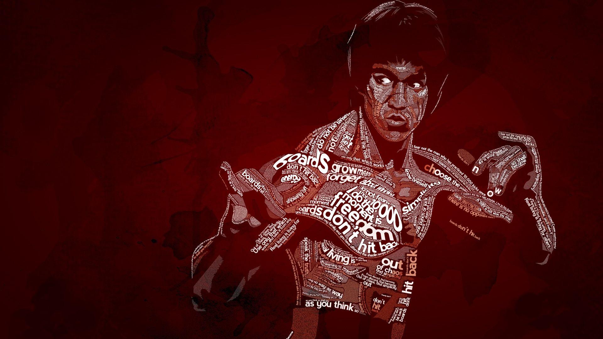 Bruce lee wallpaper | Wallpaper Bruce Lee Karate Dragons ...