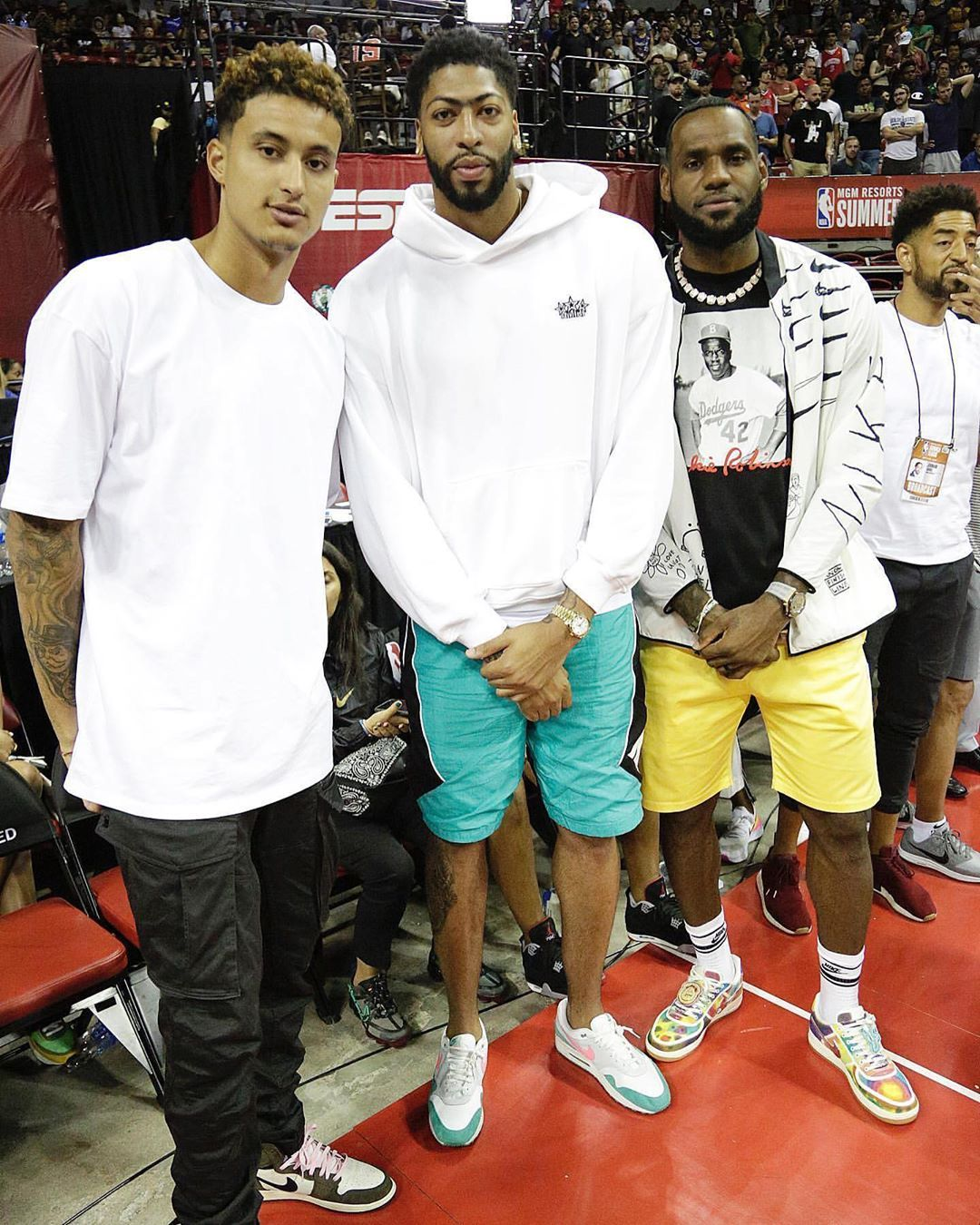 Pin By Terrae Baker On Long Live The Lakers Nba Fashion Kyle