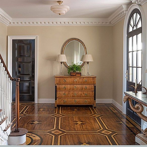 A Foyer From A House In Jacksonville With A Beautiful