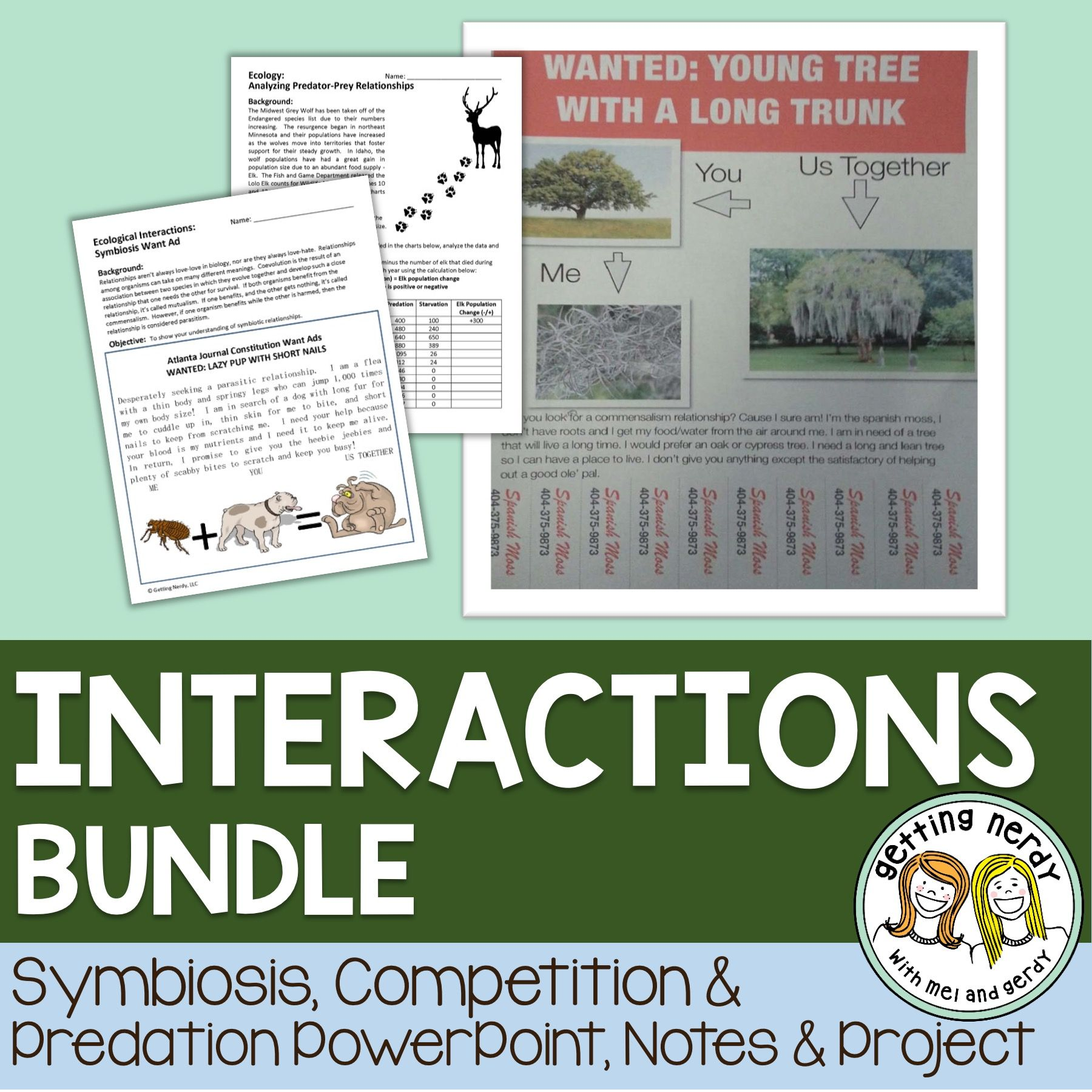 Symbiosis Competition And Predation