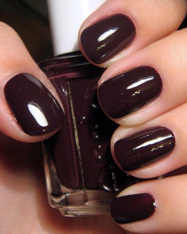 Perfect nails 🍷 | #nails #burgundy ⠀⠀⠀⠀⠀⠀⠀⠀⠀ .⠀⠀⠀⠀…