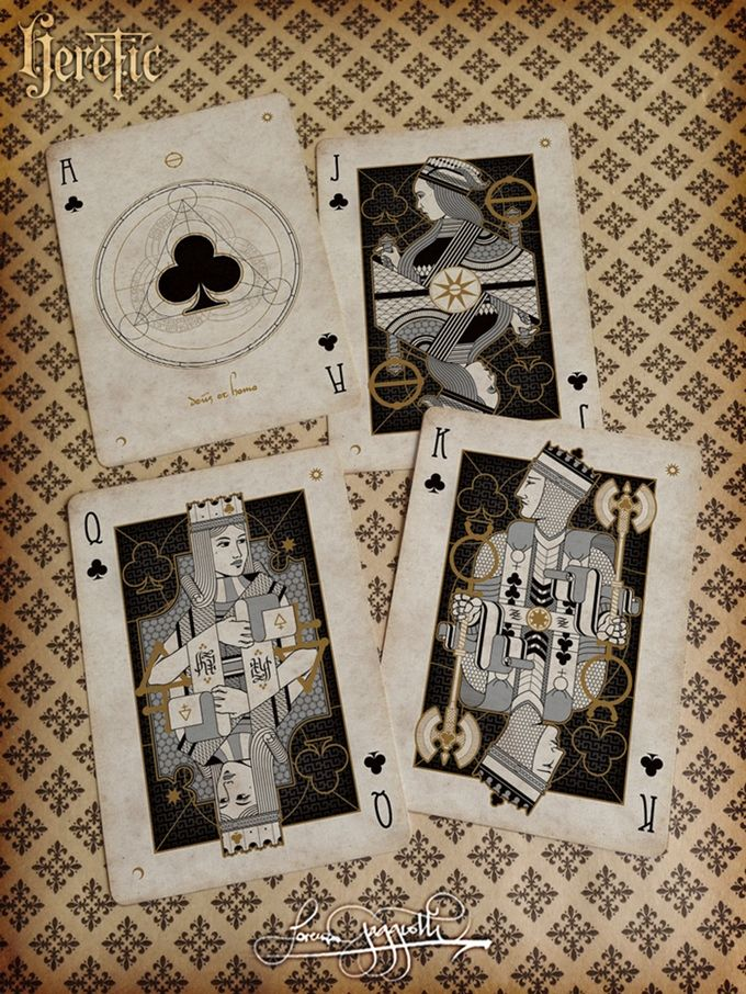 Heretic Playing Cards by Requiem Team — Kickstarter