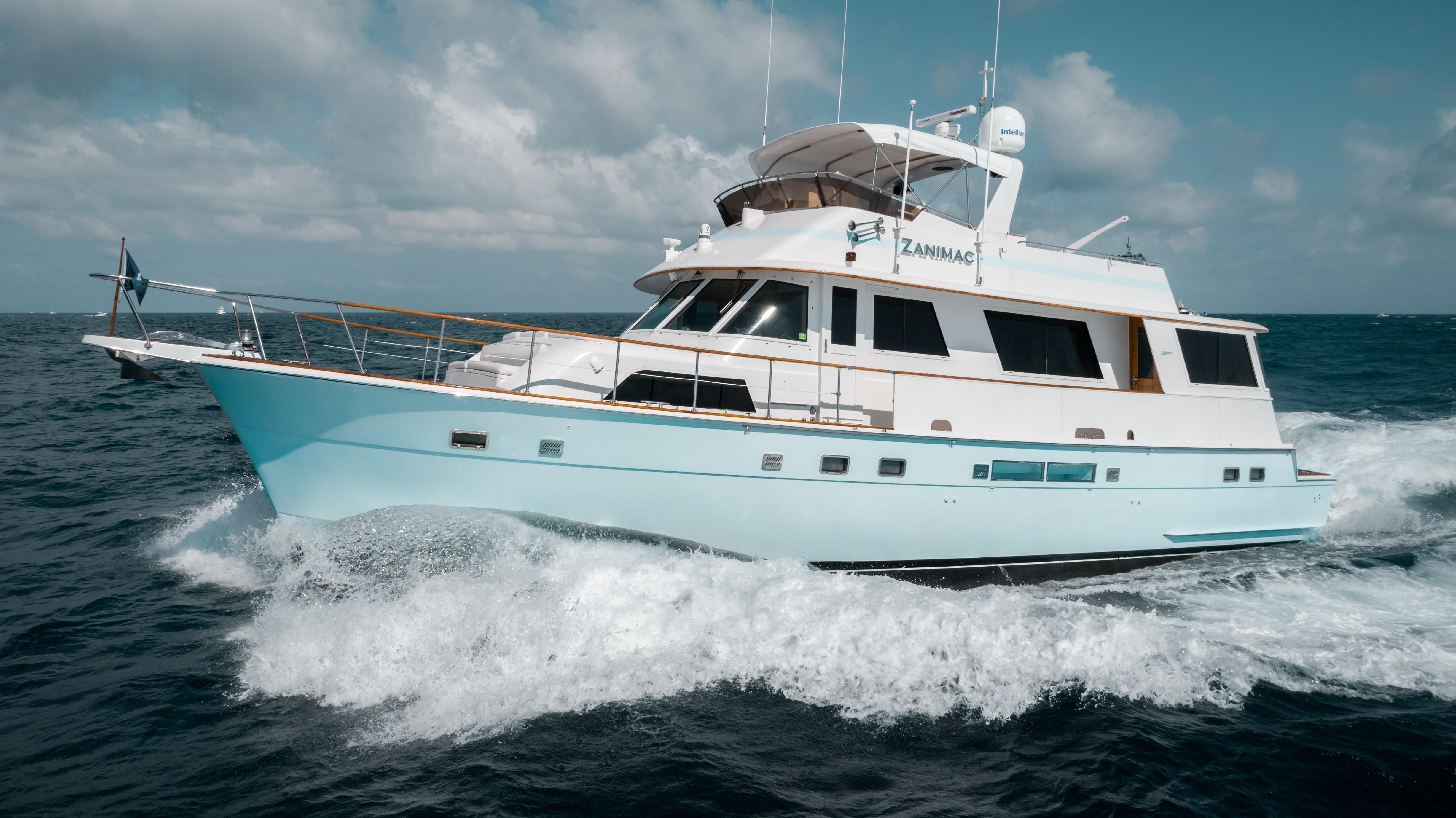 63 Hatteras Zanimac 1987 Fort Lauderdale   Denison Yacht