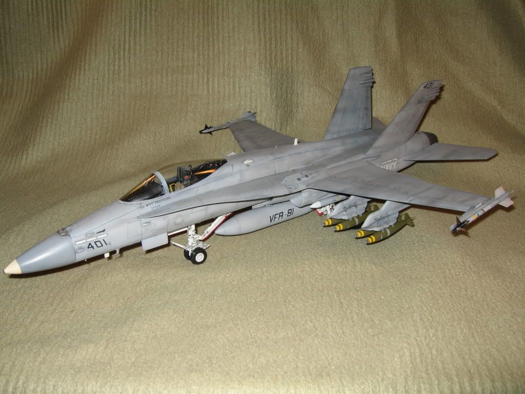 Academy 1:32 F/A-18C Hornet (VFA-81) - Flory Models Forum