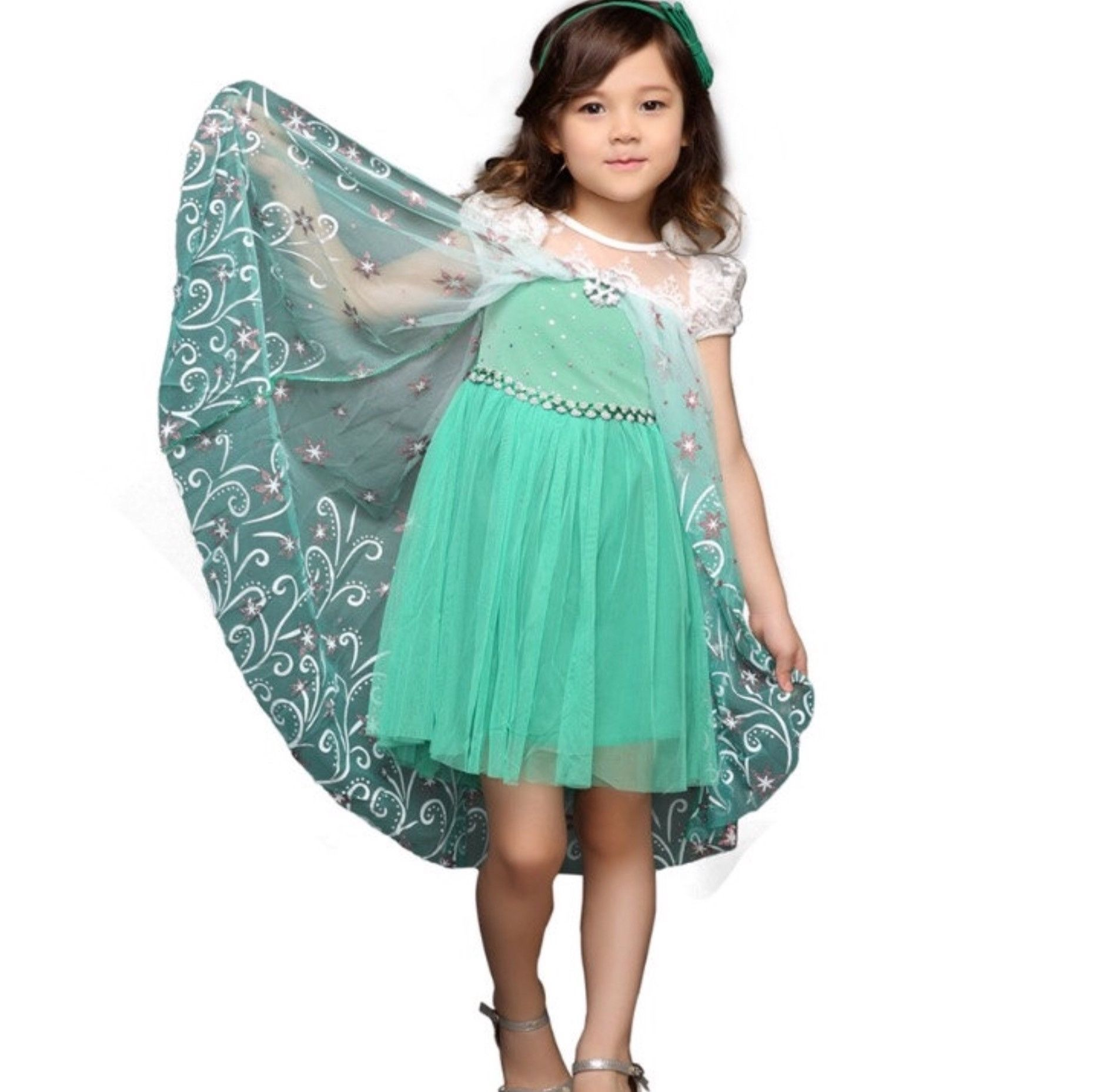 Frozen Fever Party Dress! Perfect for playing dress up, costume ...