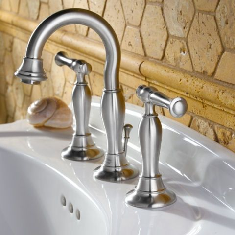 Quentin 8 Inch Widespread High Arc Bathroom Faucet   American Standard  Bathroom Sink Faucets Goes With Pedestal Sink