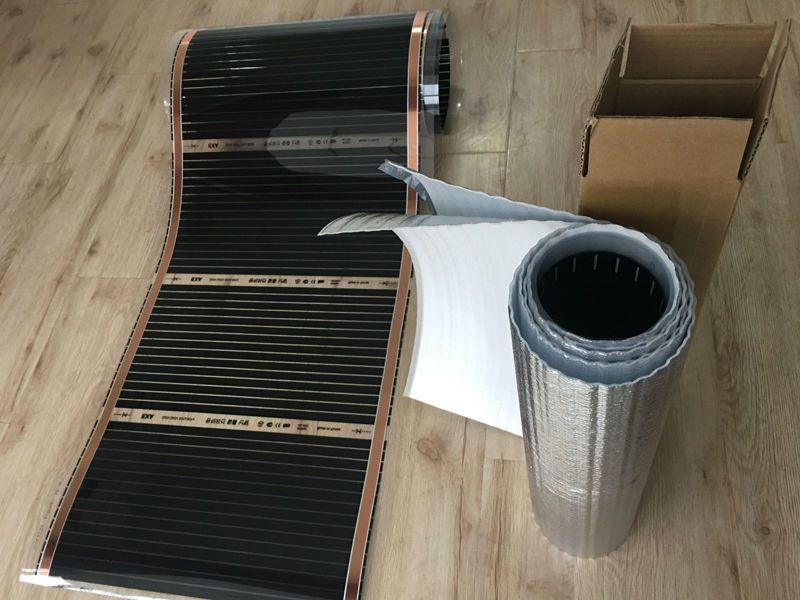 Lojista 2017 Recomendar 110 W Metro 50 Cm 2 M 1 Sq Metros Do Infravermelho Distante De Filmes De Aquecimento De Pis Cheap Flooring Flooring Infrared Heater