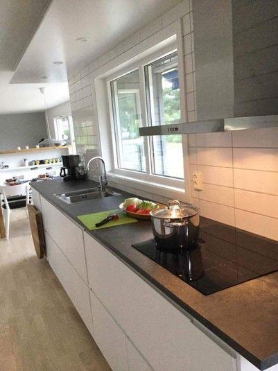 Wunderschone Kuche Mit Meeresaussicht Ferienhaus Haus Kuche