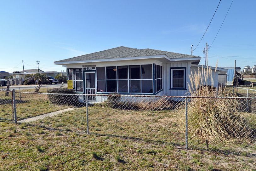 Buss stop second row vacation rental surf city nc