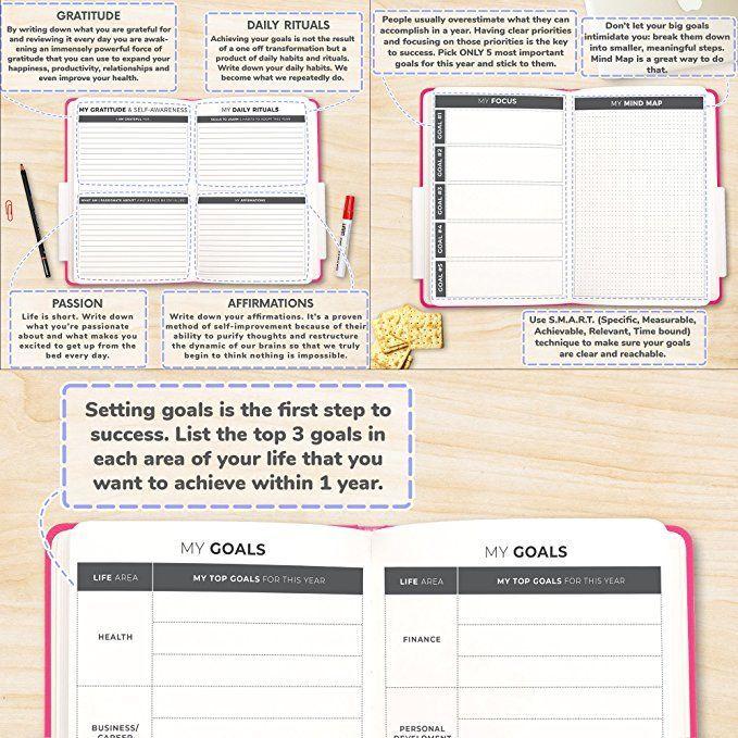 The Clever Fox Planner - Best Agenda  Daily Calendar