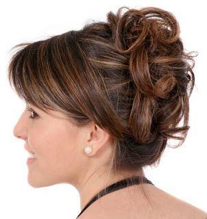Peinados De Fiesta De Noche Peinados De Fiesta 2013 Peinado De Fiesta Cabello Corto Peinados Peinados Con Pelo Recogido