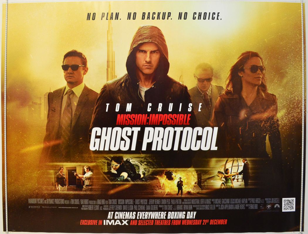Pin by Jinx Baker on Movie Night!!! | Ghost protocol