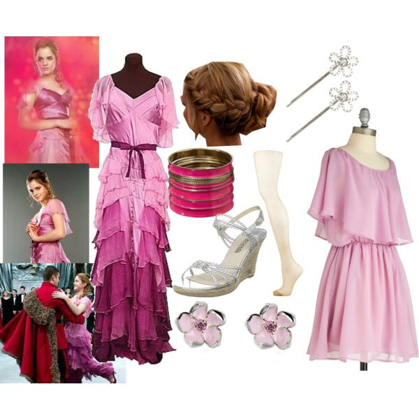 Inspired dress of Hermione\'s Yule Ball Gown\