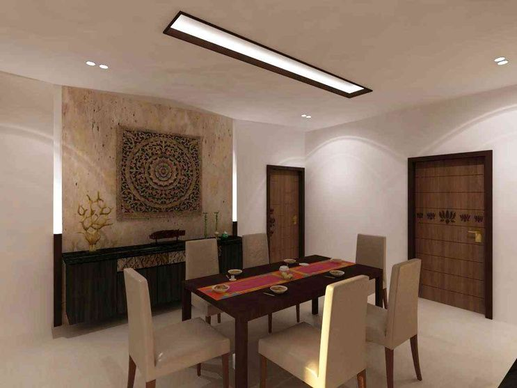 The Dining Area Design By Samanth Gowda Architect In Hyderabad Andhra Pradesh India