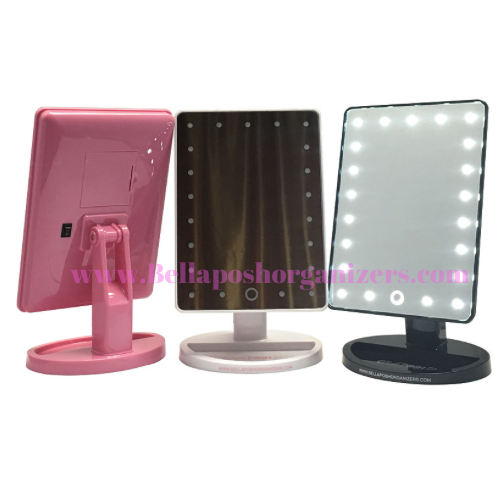 Portable Vanity Mirror With Lights Interesting Mixing Palette  Bellaposh Organizers  Beauty & Nails  Pinterest Design Decoration
