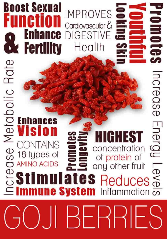 goji berries health benefits fertility