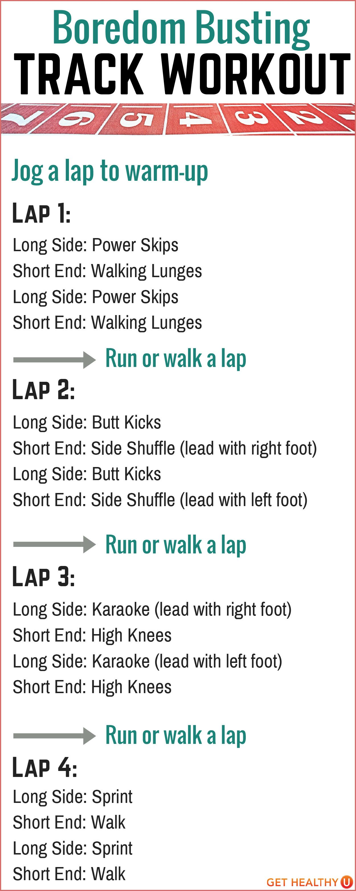 Sprint exercise routine