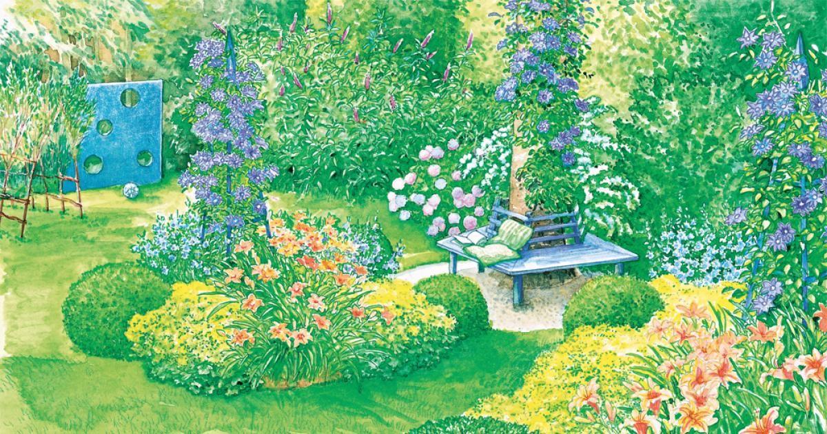 Eine große Fichte im Garten bringt viele Hobbygärtner zum