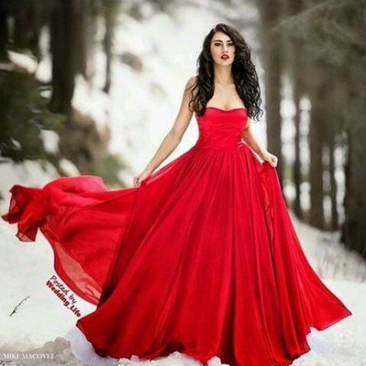 #designer #designerwear #details #destinations #red #redgown #reddress #dresses #dress #gown #gowns #elegant #lady #fashion #forest #winter #snow #hair #beauty #makeup #mikemacovel by ladyelegant_89