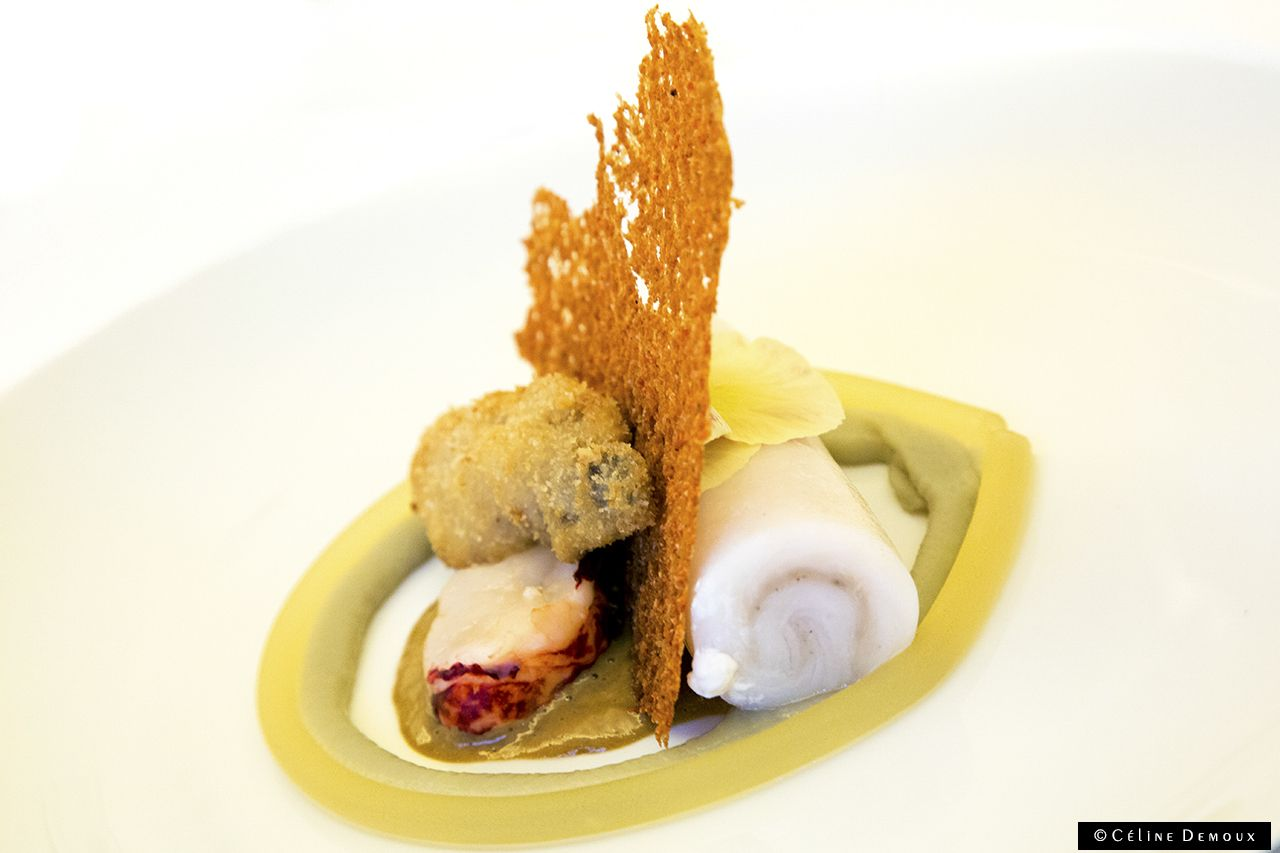 Sur mesure par thierry marx mandarin oriental paris - Restaurant cuisine moleculaire paris thierry marx ...