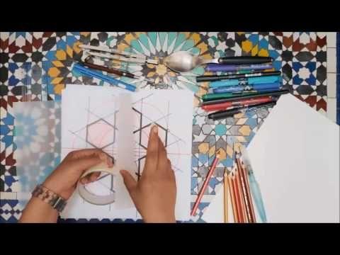 Islamic Geometry The Underlying Grid زخارف اسلامية هندسية Youtube Islamic Art Art Geometry