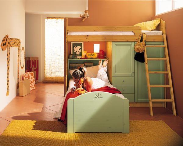Callesella Camerette ~ Ikea cocuk yatak modelleri3.jpg] kitap rafları pinterest