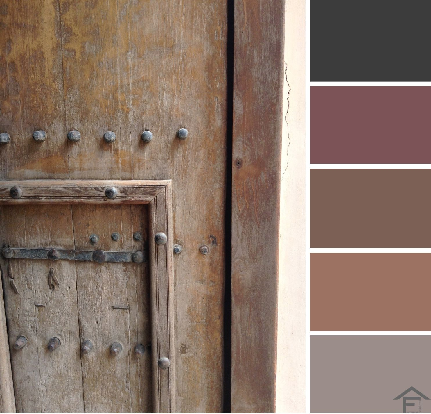Palette colore porta arredamento esterni tendenze for Stili di arredamento interni