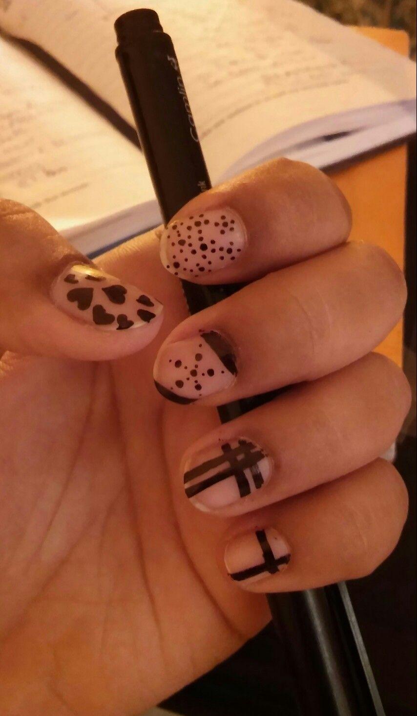 Diy marker nail art with images diy nails diy marker
