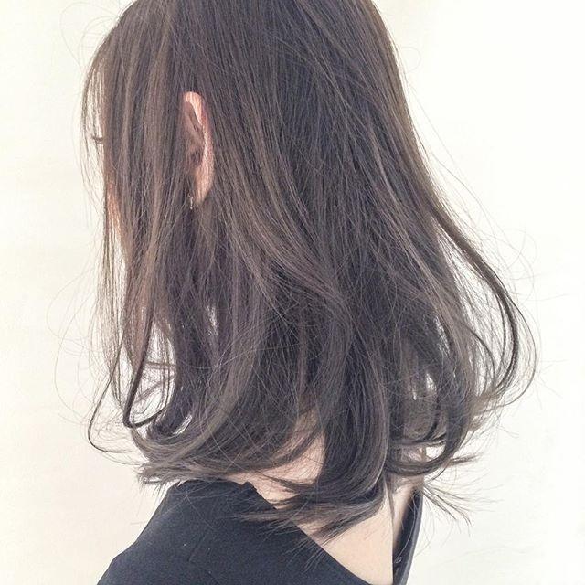黒髪 ダークトーン 暗めなグラデーションカラーまとめ 美髪 ヘア