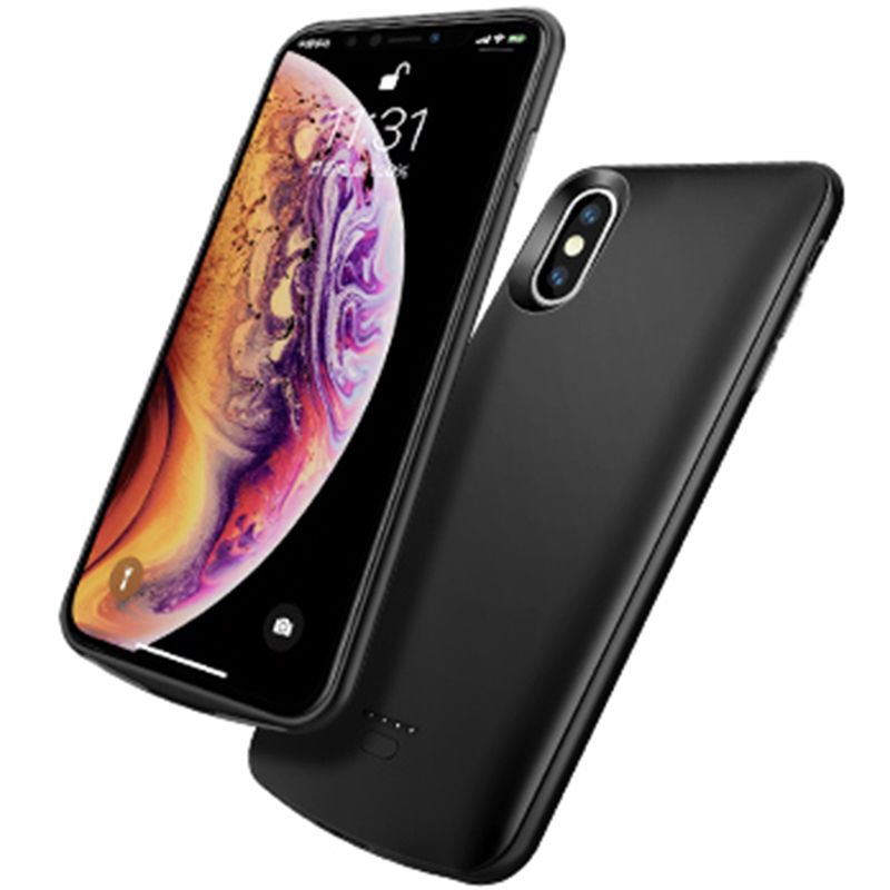 Perfect thin 5000mah charger case for iphone xs max xr