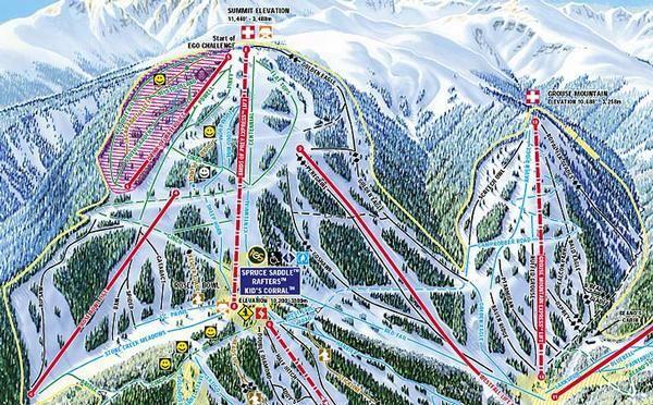 Beaver Creek Trail Map Activities Pinterest Trail Maps And - Beaver creek ski trail map