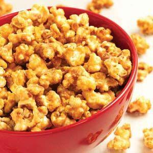 Peanut Maple Popcorn