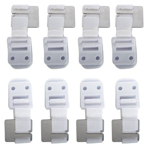 Safety 1st Furniture Wall Straps, 8 Count Safety 1st
