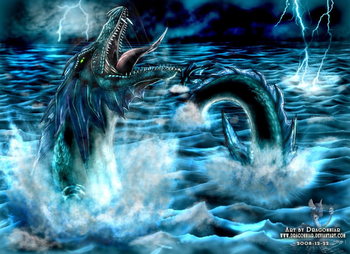 его картинки морской змей катание льду это