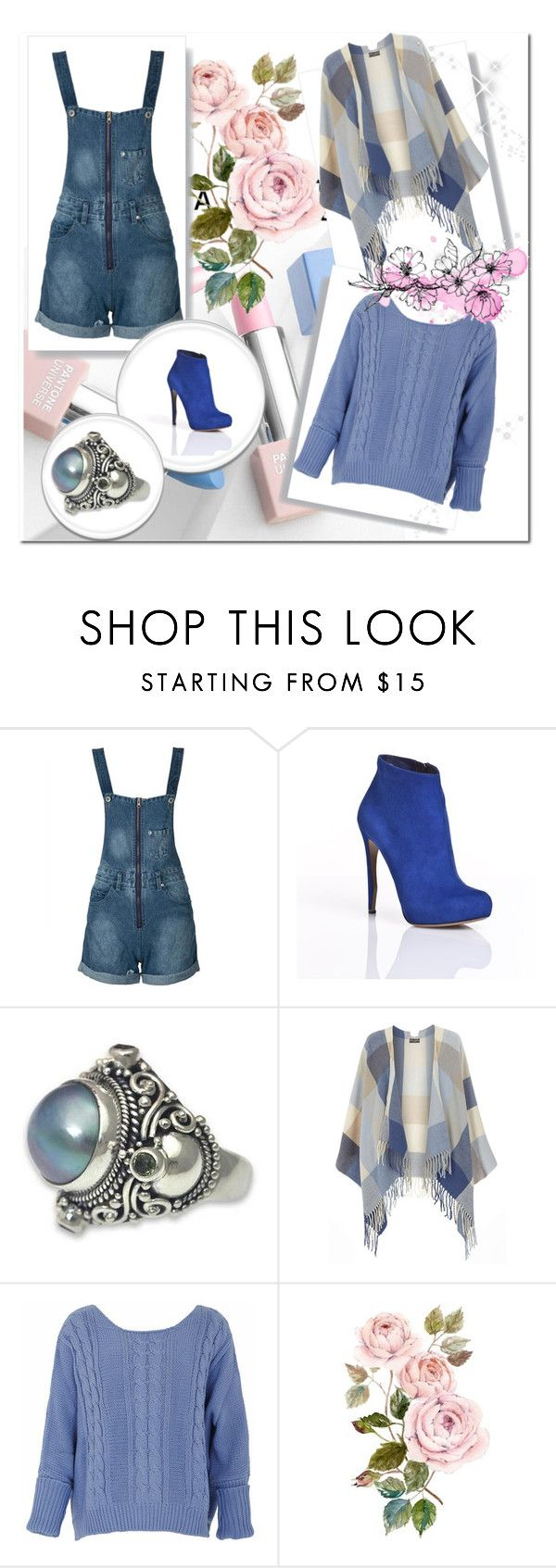 """Sem título #11344"" by nathsouzaz ❤ liked on Polyvore featuring WithChic, Nicholas Kirkwood, NOVICA, Dorothy Perkins, Sephora Collection and Karlsson"