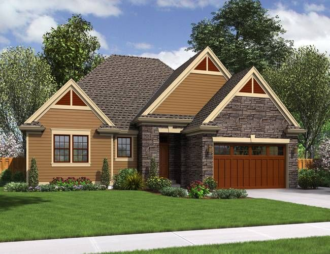 One of my favorite home designs: Mascord Plan 1161ES - The Hoover ...